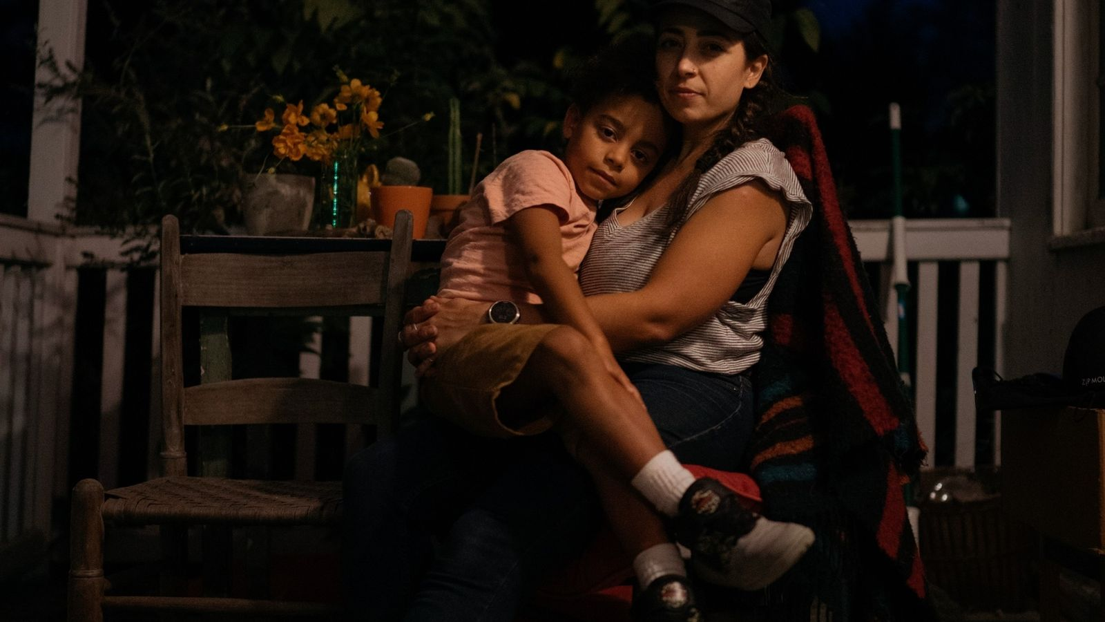 Hermelinda Cortés, pictured with son Santos Timmons Cortés at their Virginia home, is part of the ...