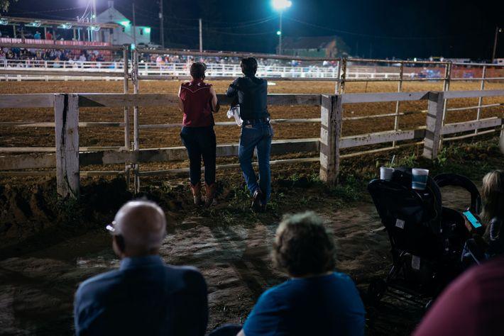 Rae Garringer and friend Jacob Mack-Boll attend the Isom Days Festival in Kentucky. Garringer had no ...