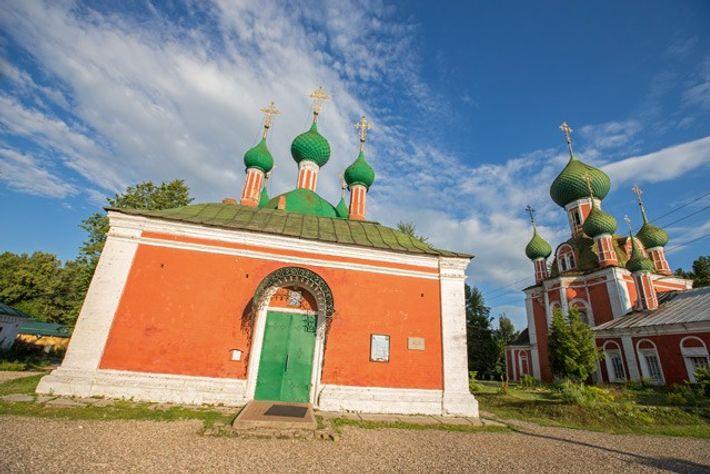 Churches in Red Square, Pereslavl-Zalessky. Image: Daniel Allen