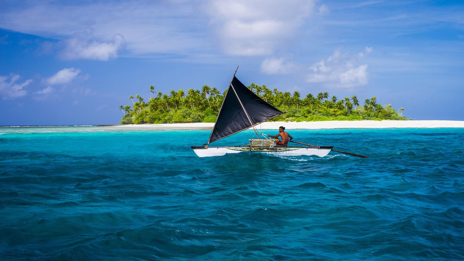 Getting to remote Kiribati, one of the 193 United Nations member countries, is a goal for ...