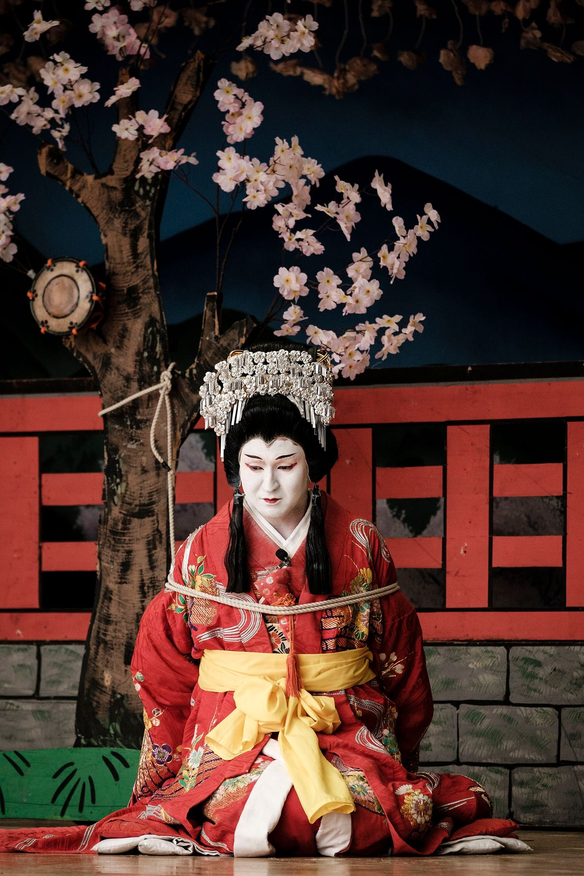 Kabuki, the traditional Japanese form of theatre that draws on a rich blend of music, dance ...