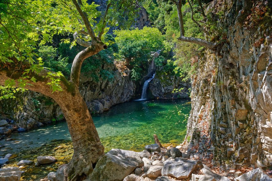 On Samothrace, there are plenty of opportunities to cool off in blissful solitude in one of ...