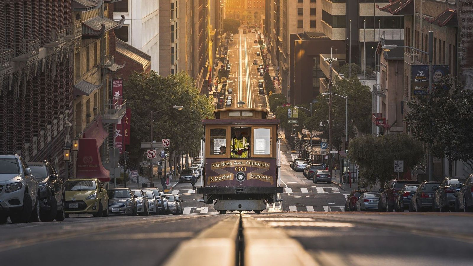San Francisco's ingrained, trailblazing spirit makes the Californian city a thrilling place to dine in.