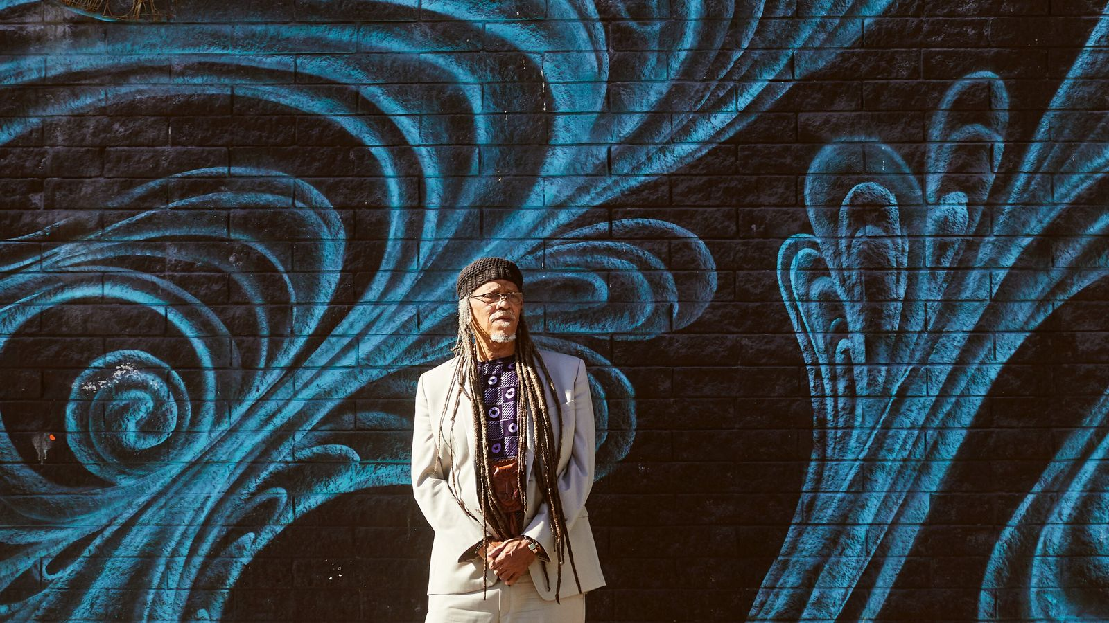 Jazz musician and native San Franciscan Sam PeoplesJr outside the Boom Boom Room in the Fillmore ...