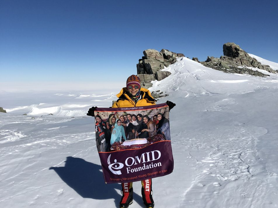 This woman climbs mountains to empower girls around the globe