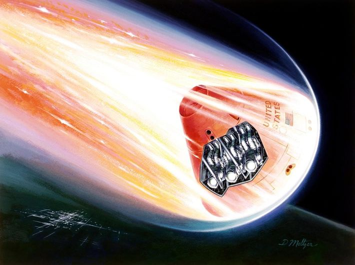 Riding a Fiery Meteor, March 1964