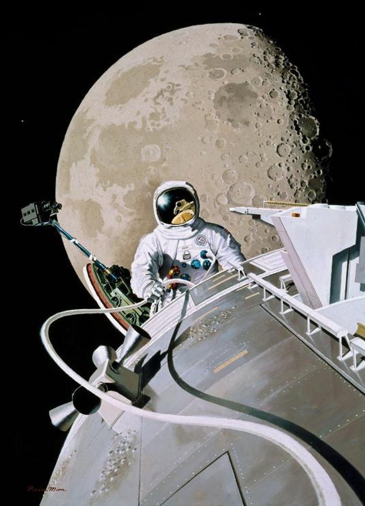 Al Worden's Space Walk, February 1972