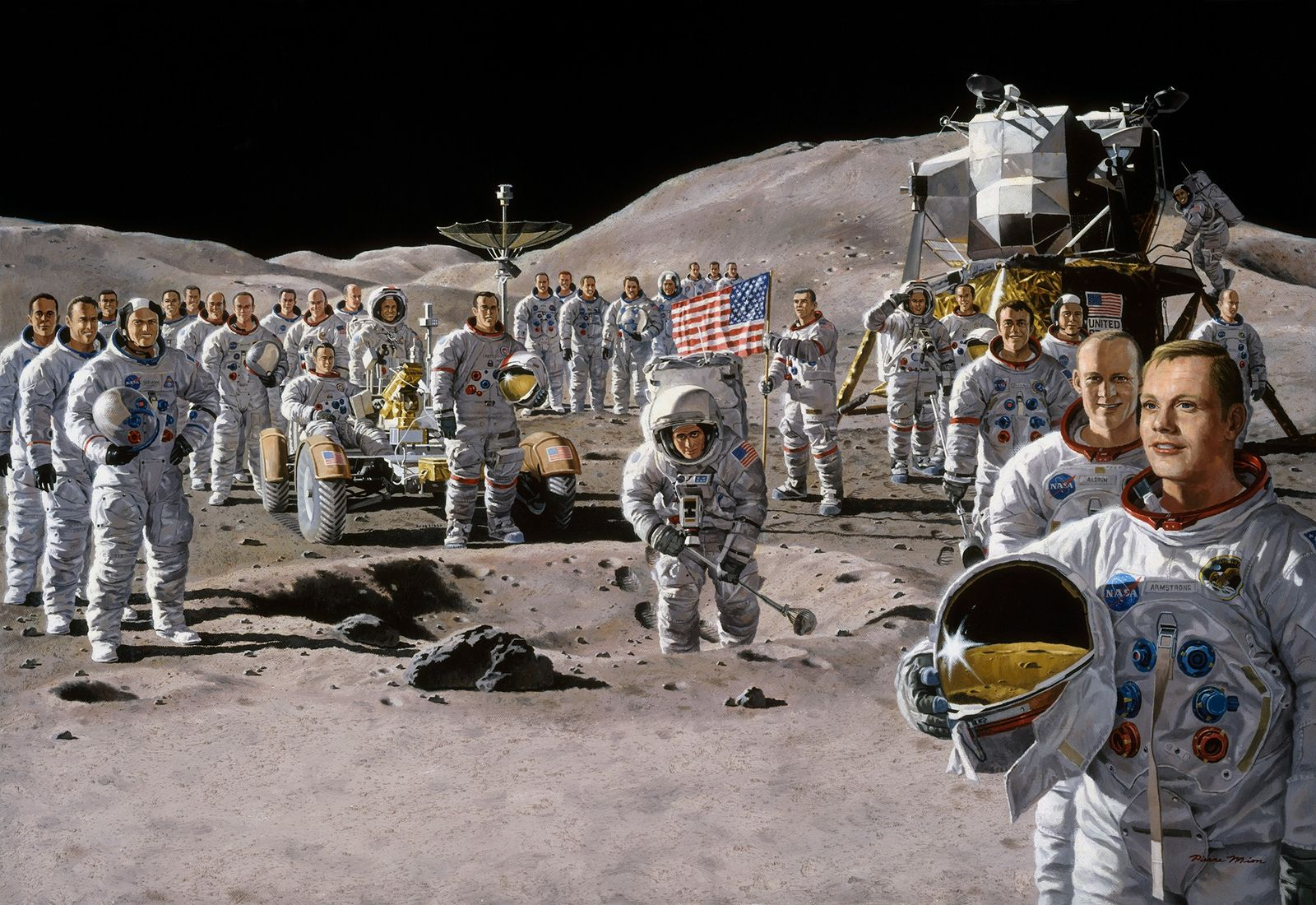 See How Apollo-Era Scientists Thought We'd Live On The Moon