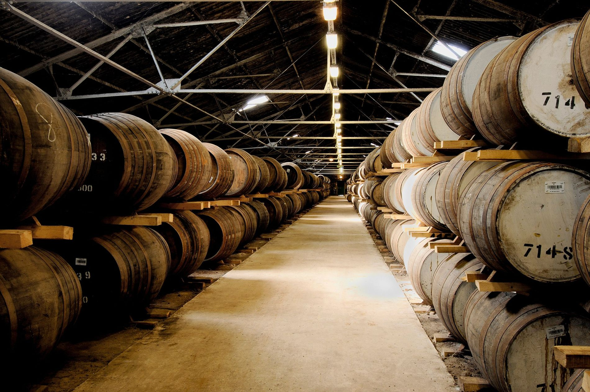 Glen Moray started production in Speyside in 1897, but many of the country's historic distilleries closed.