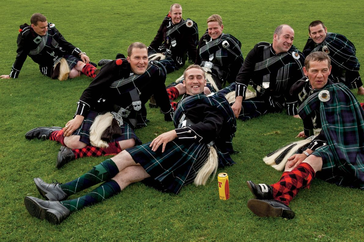Since 1823, the Lonach Highland and Friendly Society has gathered annually in the Highlands to preserve ...