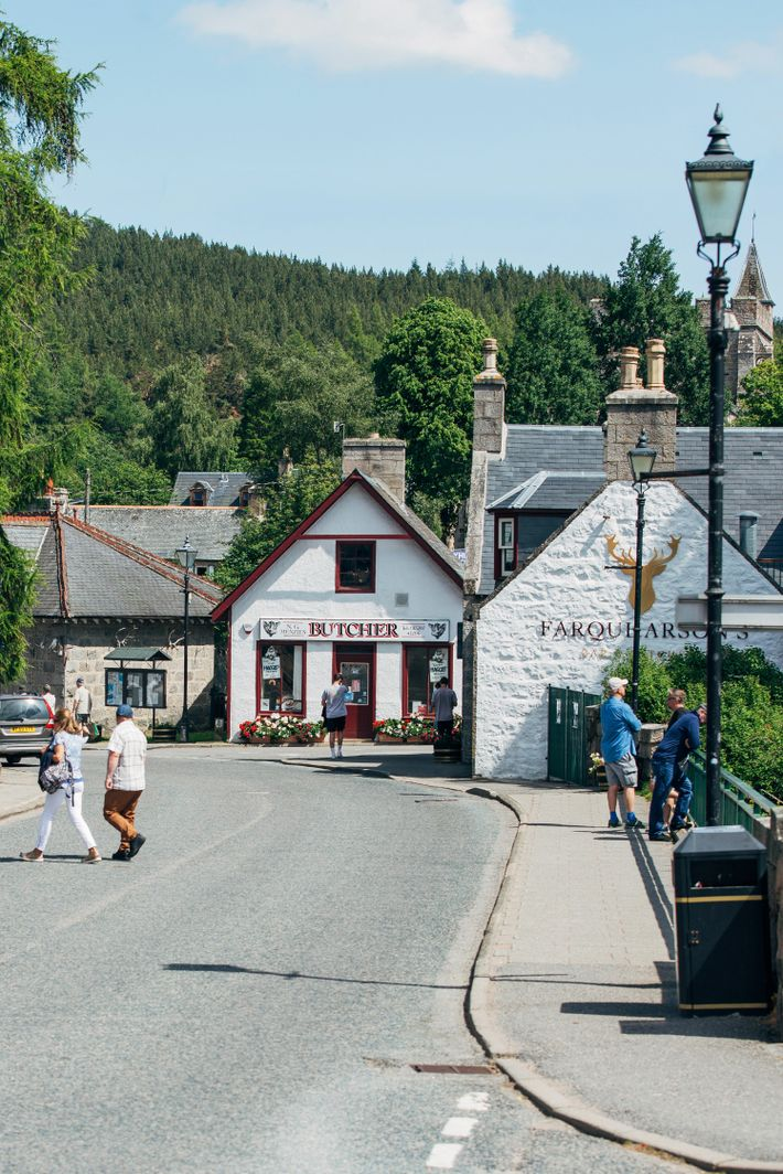 Braemar village, situated in the heart of Cairngorms National Park.