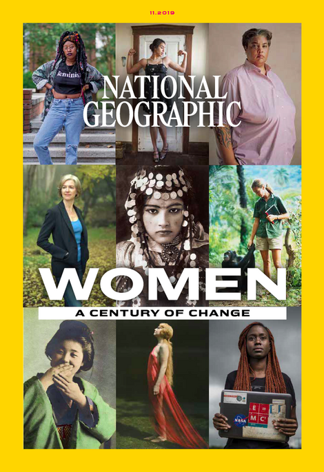This article is part of National Geographic's Women of Impact special – celebrating the women around the world who fearlessly push boundaries. The November issue of National Geographic is the first issue in which all written and photographic content has been created by women contributors.
