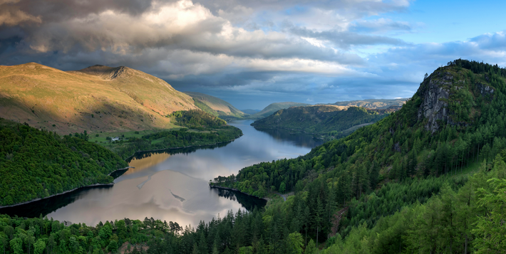 Thirlmere in the Lake District, Cumbria, was – along with neighbouring Derwent Water – used for ...