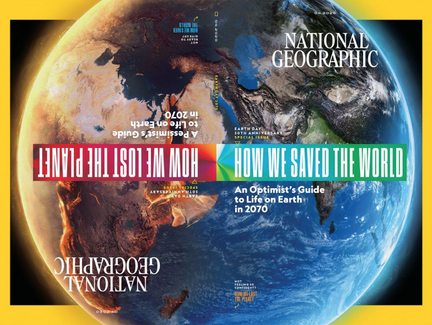 National Geographic Magazine April 2020.