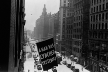 From 1920 to 1938, the NAACP unfurled a flag outside its headquarters on Fifth Avenue in ...