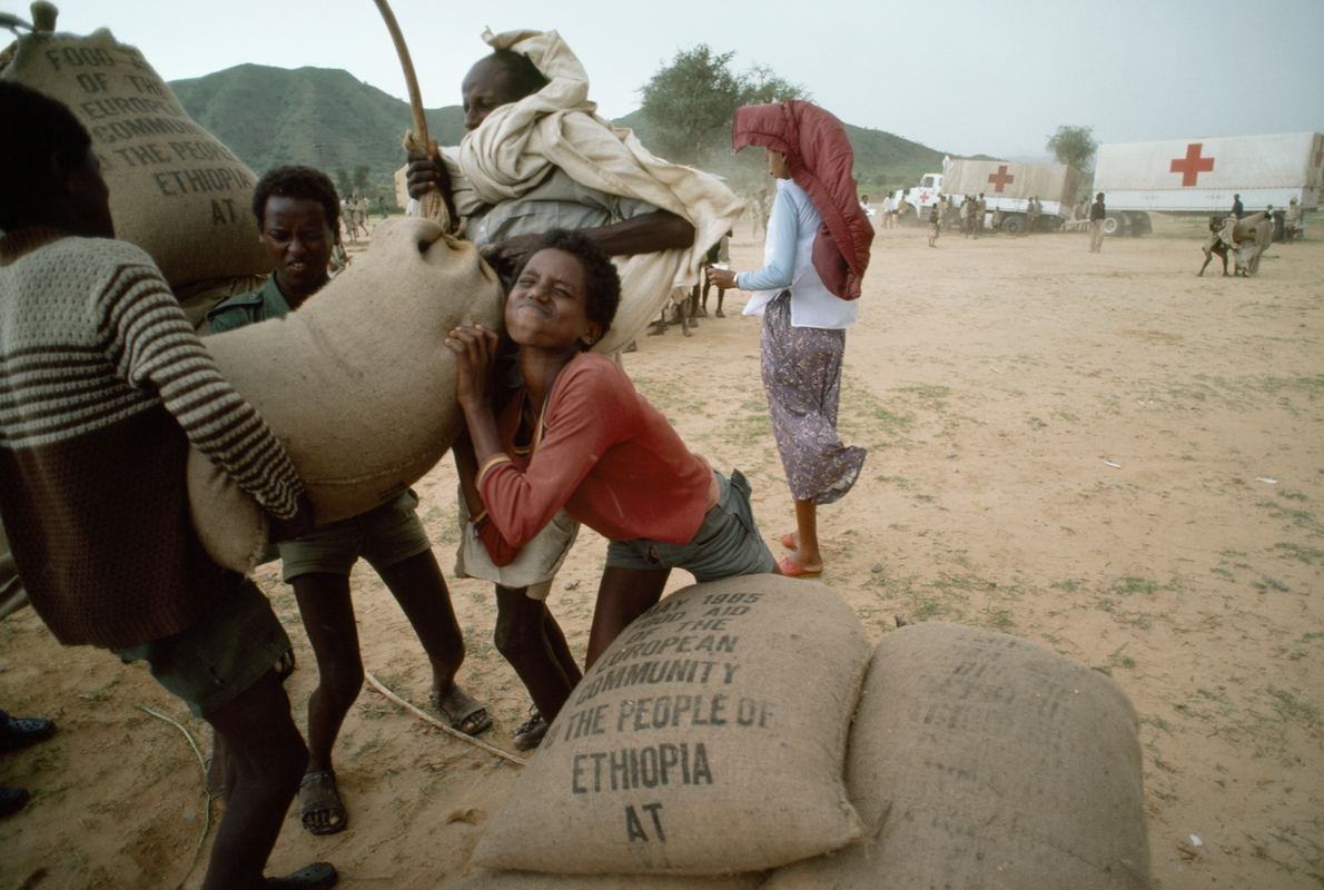 A story in the November 1986 issue documented the worldwide humanitarian efforts of the International Committee ...