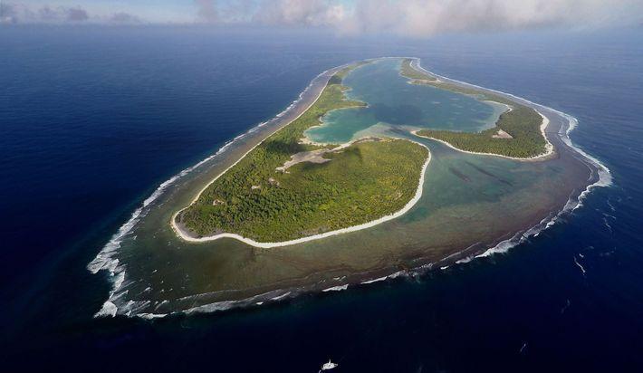 Ballard's search centers on Nikumaroro Island, an uninhabited atoll that's part of the Micronesian nation of ...