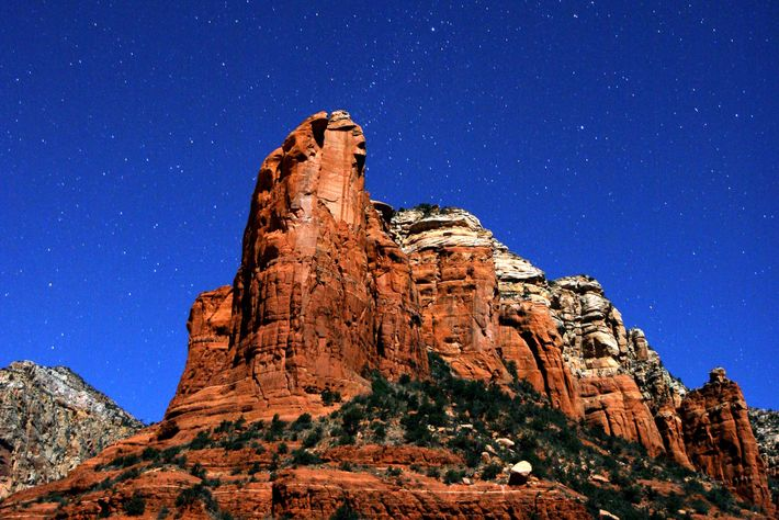 The brilliant night skies of Sedona are about two hours north of Phoenix.
