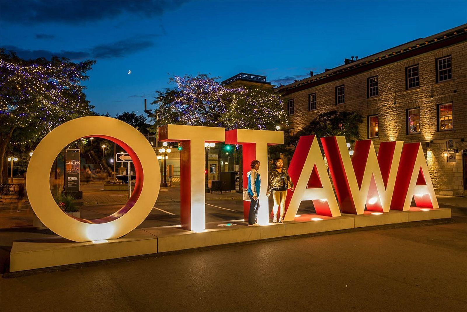 Snap a selfie at the Ottawa sign when you visit the ByWard Market.