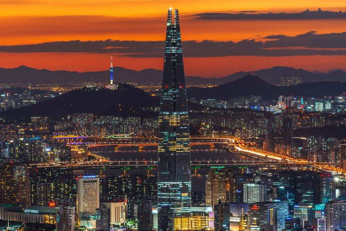 Surrounded by a mountainous landscape, Seoul is a neon-lit metropolis home to 10 million people.