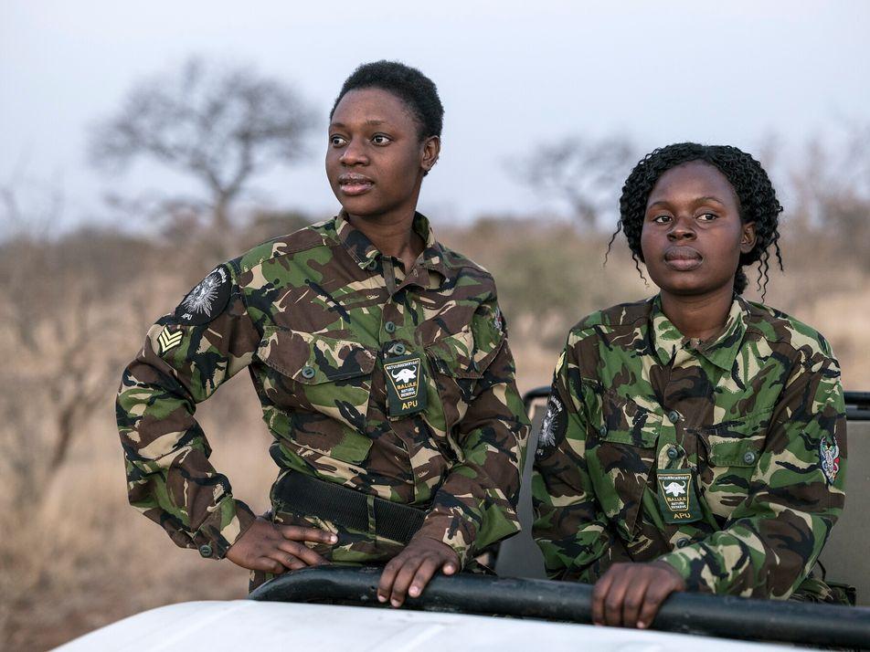 Meet the Black Mambas, South Africa's all-female anti-poaching unit