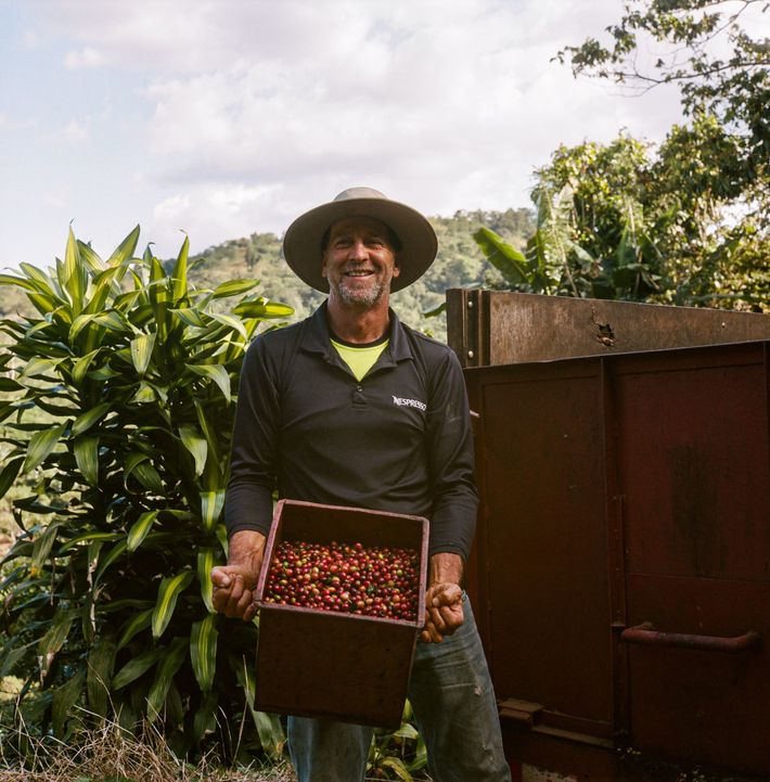 A Costa Rican coffee farmer is taking steps toward total sustainability