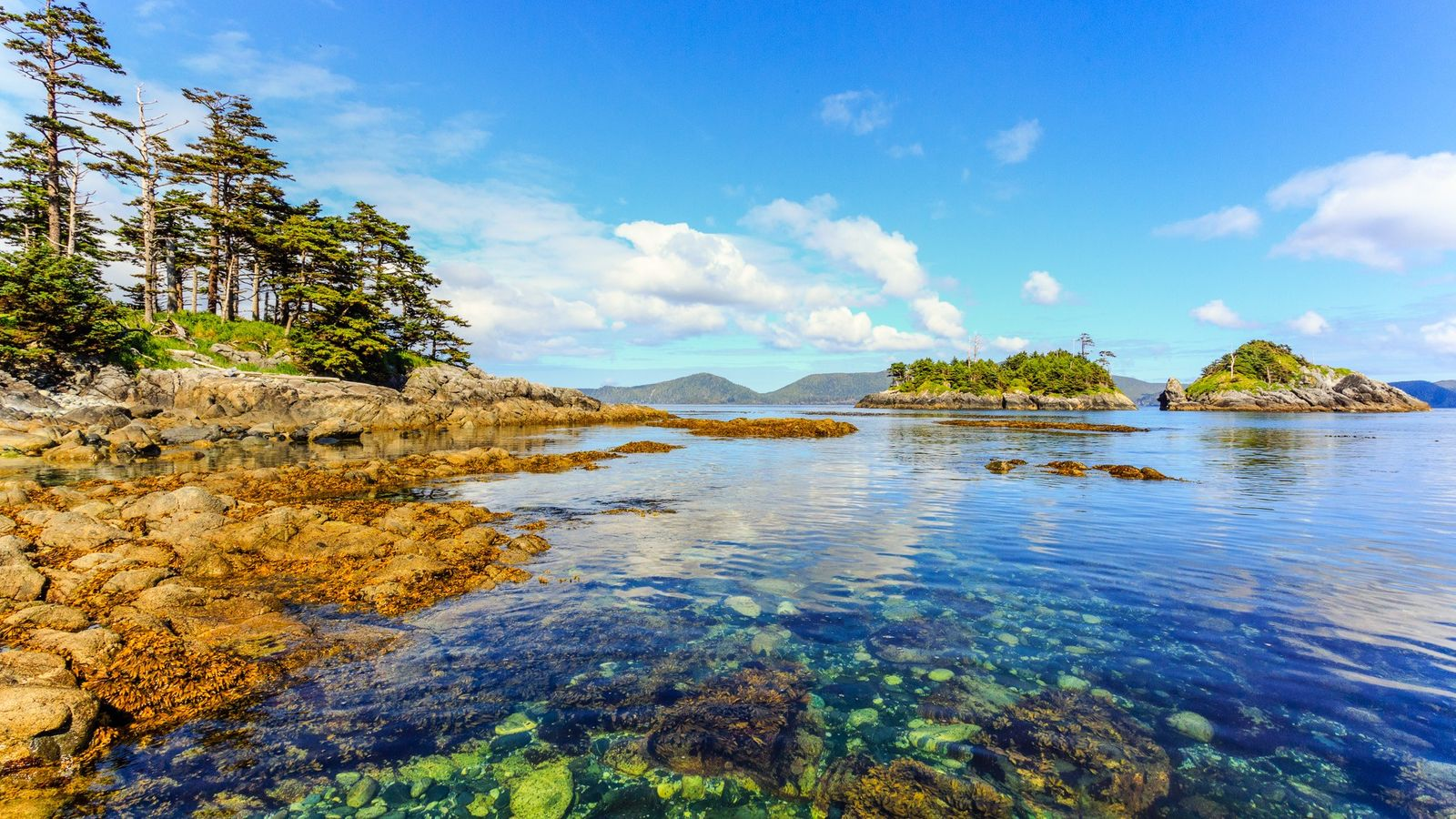 SG̱ang Gwaay (Anthony Island) is located in the southwest corner of Gwaii Haanas National Park Reserve ...