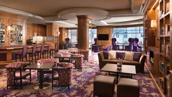 The bar and restaurant at the Sheraton Zagreb will leave diners feeling satisfied and merry.