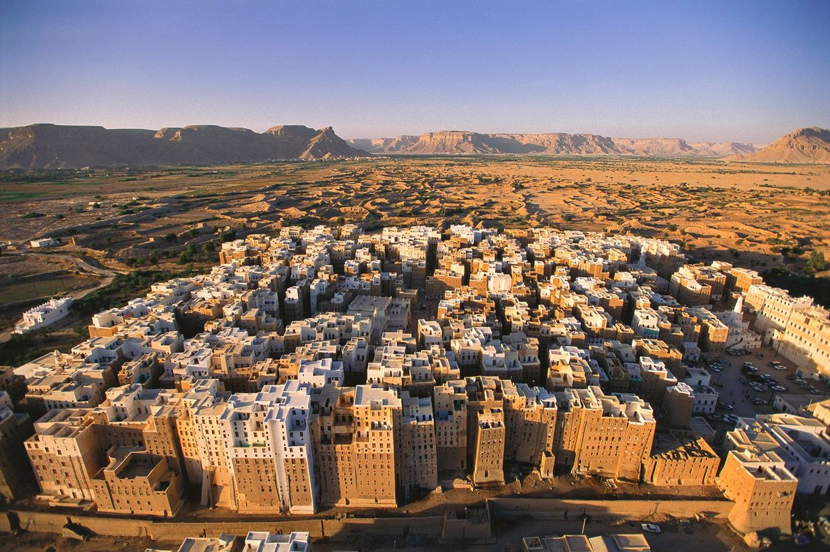 Old Walled City of Shibam, Yemen