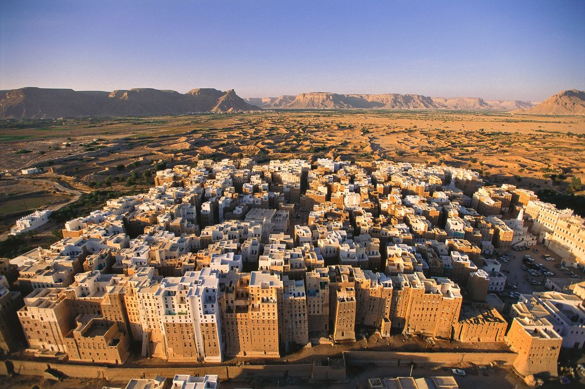 Old Walled City of Shibam, Yemen