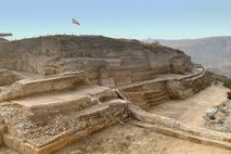 Crowned by a stepped pyramid more than 200 feet tall, a 4,300-year-old fortress city known as ...