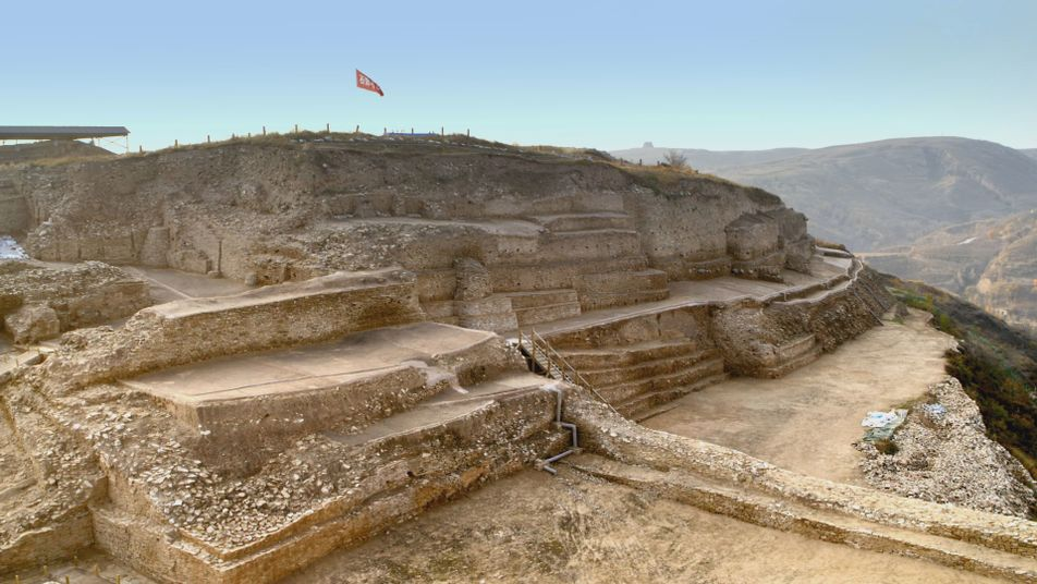 Mysterious carvings and evidence of human sacrifice uncovered in ancient city