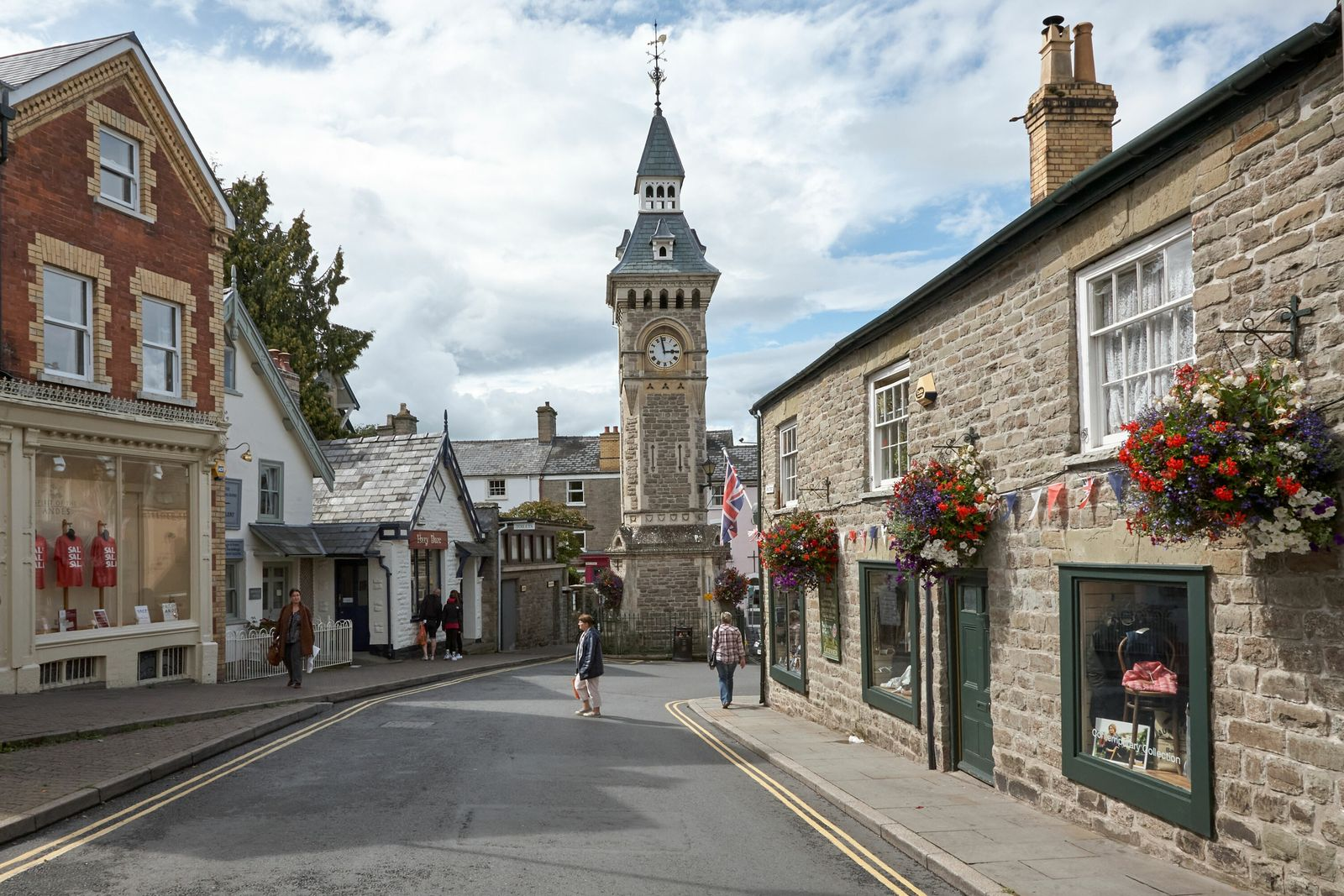 The market town of Hay-on-Wye in the Welsh County of Powys, near the English border, is famous for ...