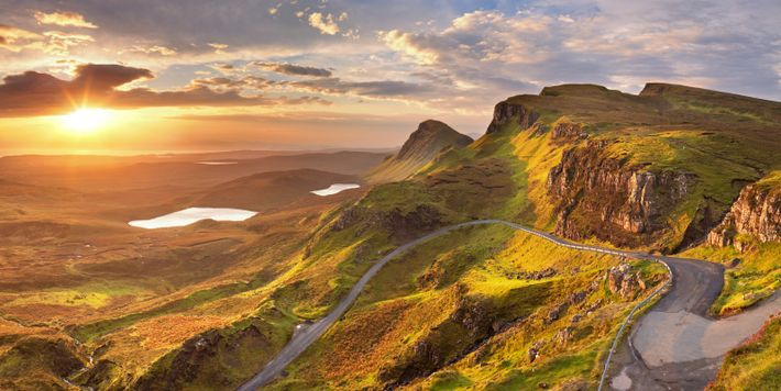 The Isle of Skye offers spectacular views and driving round the island offers a great way ...