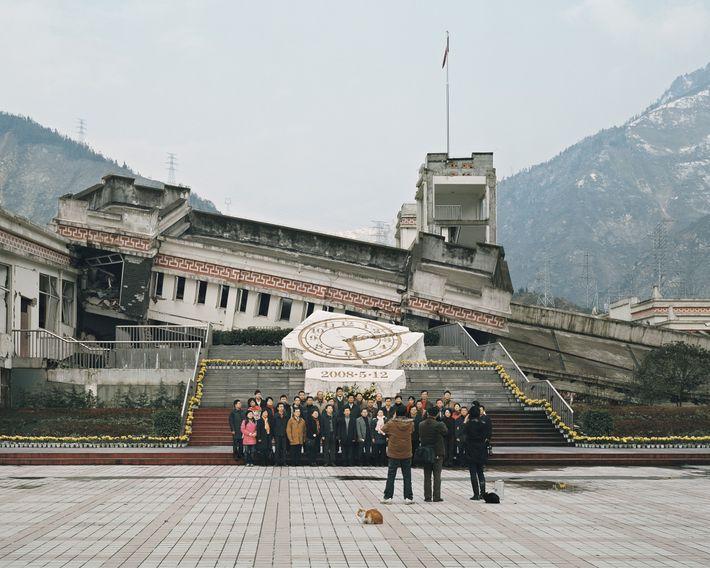 Sichuan Wenchuan earthquake ruins