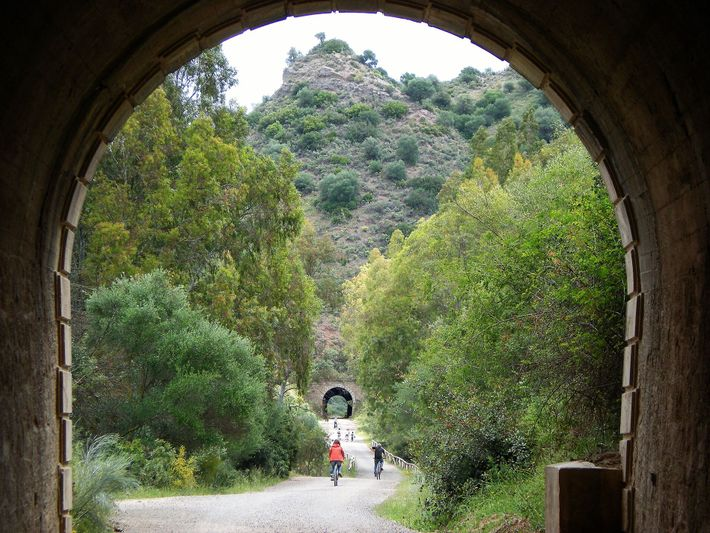 The Sierra Greenway winds up through the mountains of Cadiz province, passing through no less than 29 ...