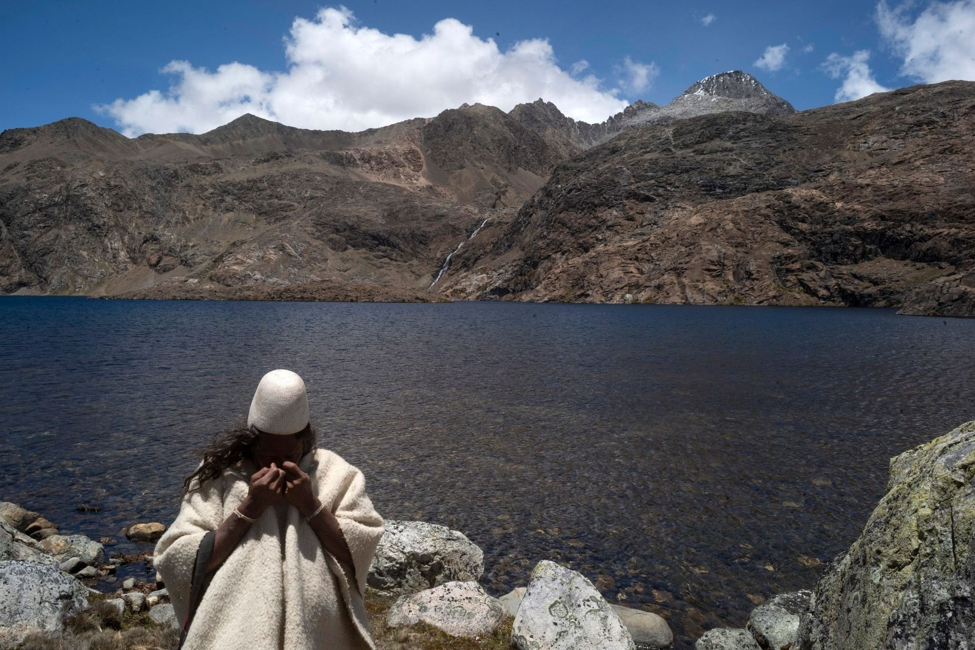 The Arhuaco, an indigenous group in northern Colombia's Sierra Nevada de Santa Marta massif, consider their ...
