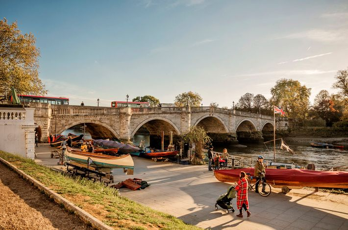 With its village-like high street, grand Victorian houses and excellent pubs, leafy Richmond feels both part ...