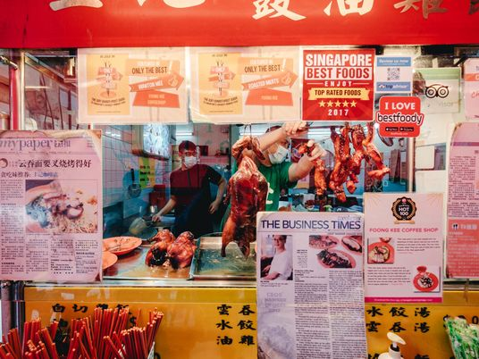 Singapore's iconic, but endangered, street food now has UNESCO status