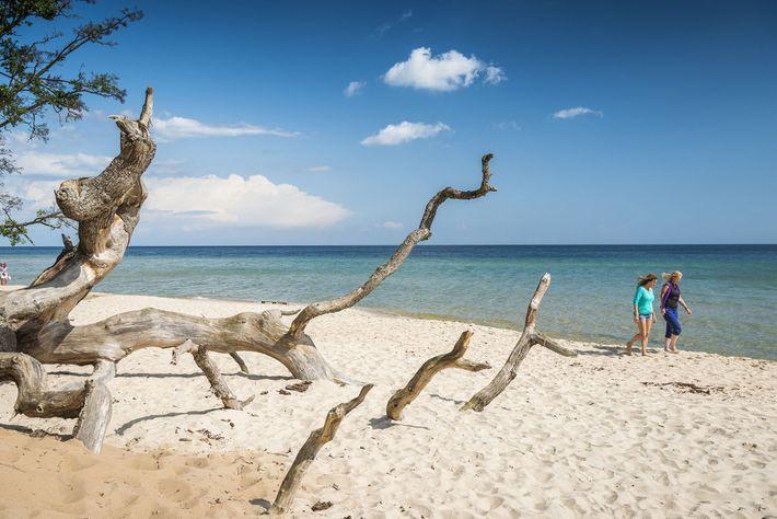 Knäbäckshusen beach