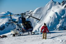 In Stewart, it's possible to ski Mount Everest to sea level and then half as much ...