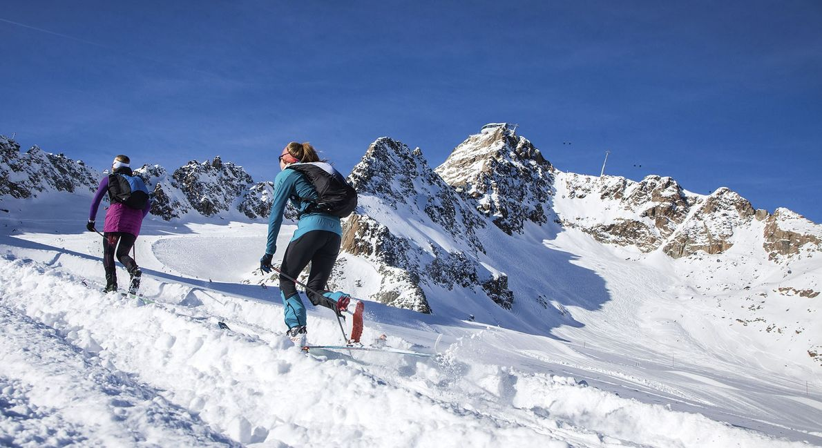 Ski touring: the trend for ski-hiking uphill continues to climb