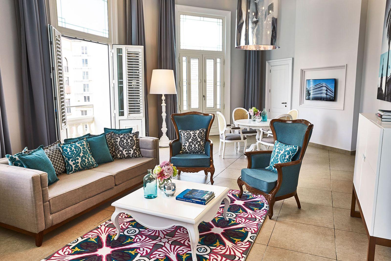 Esquina suite, Gran Hotel Manzana Kempinski.