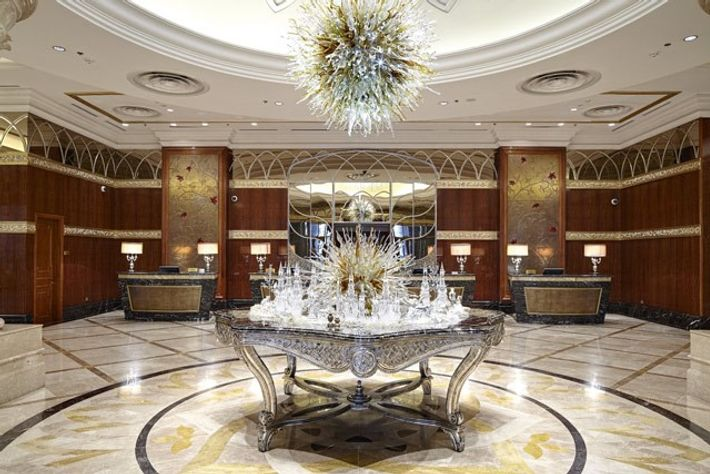 Lotte Hotel Moscow.