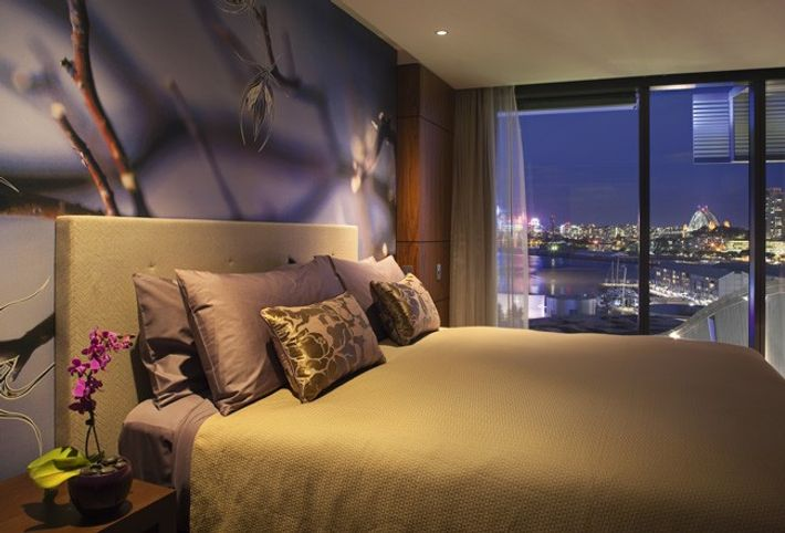 An hotel room in Sydney