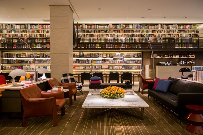 Bookworms at Eslite Hotel can lose themselves in the lounge which has over 5,000 tomes.