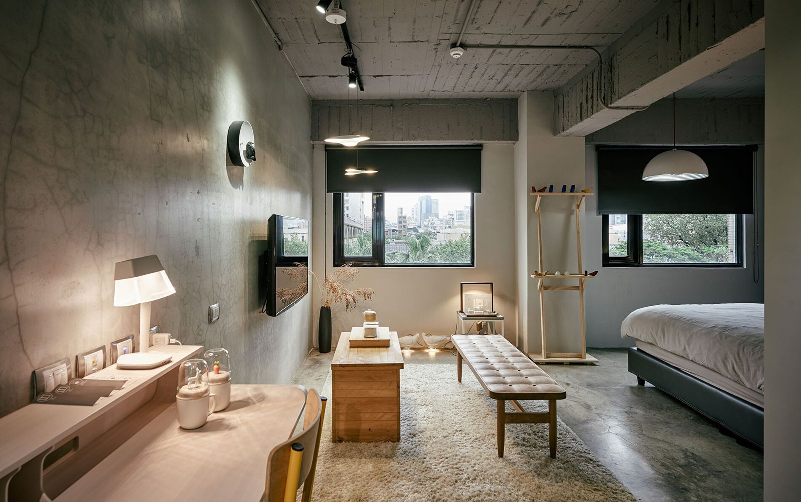 The furniture and decor is created by local Taiwanese craftspeople at Play Design Hotel.