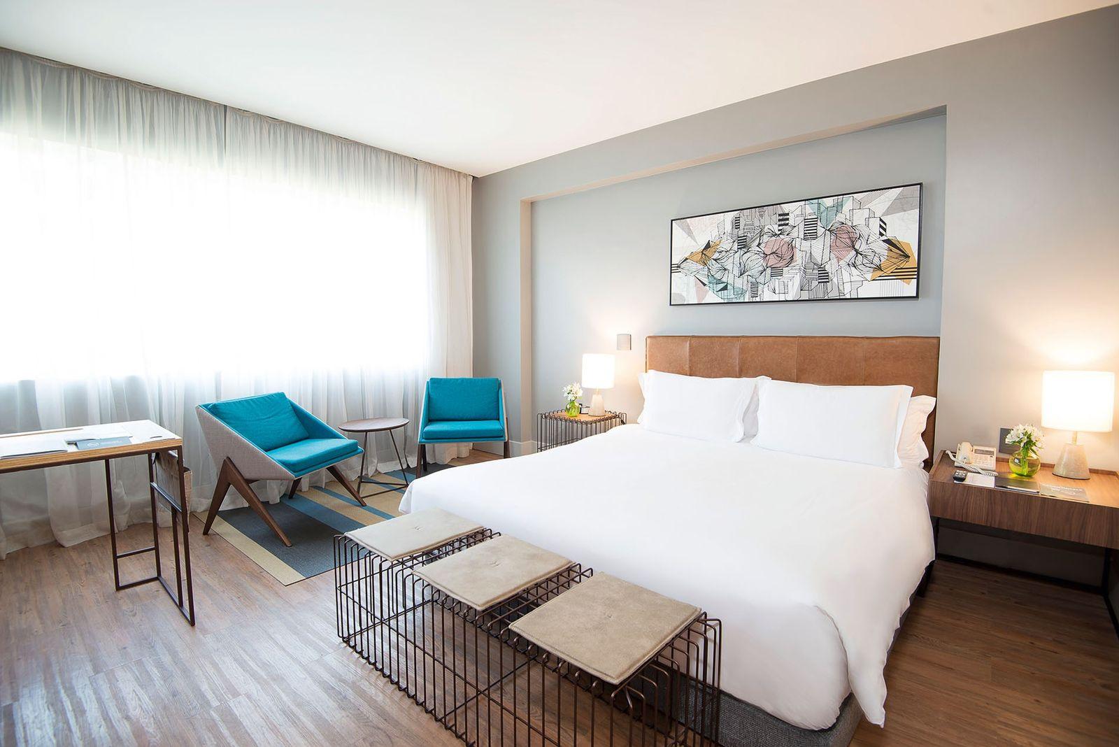 Bedroom at Pullman São Paulo Vila Olimpia.