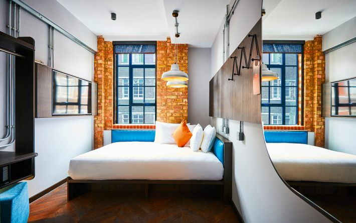 The New Road Hotel is located in a former Whitechapel textile factory, meaning rooms come with plenty ...