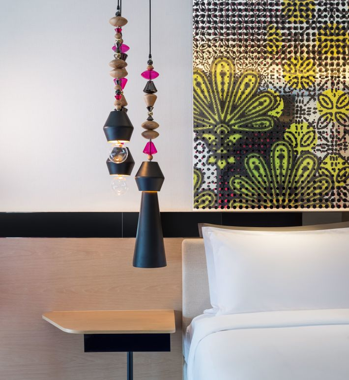 The room at W Kuala Lumpur are as sophisticated as the rest of the hotel.